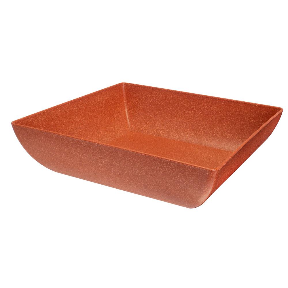 Saladeira Quadrada Terracota - 2,9 Litros