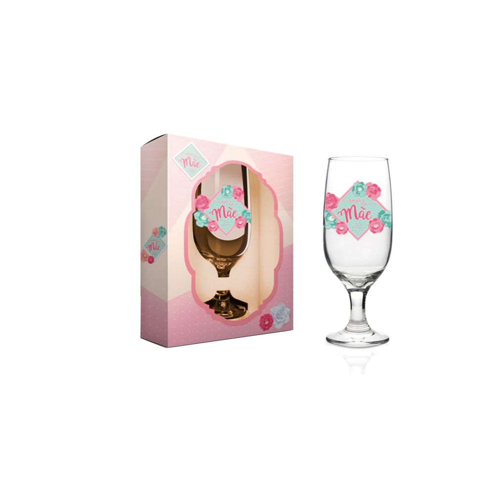 Taça Floripa Amor De Mãe - Cx Presente
