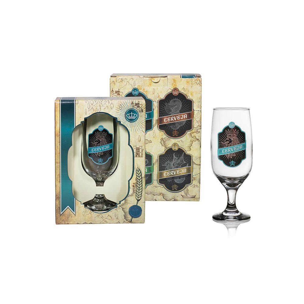 Taça Floripa Cerveja Medieval - Cx Presente