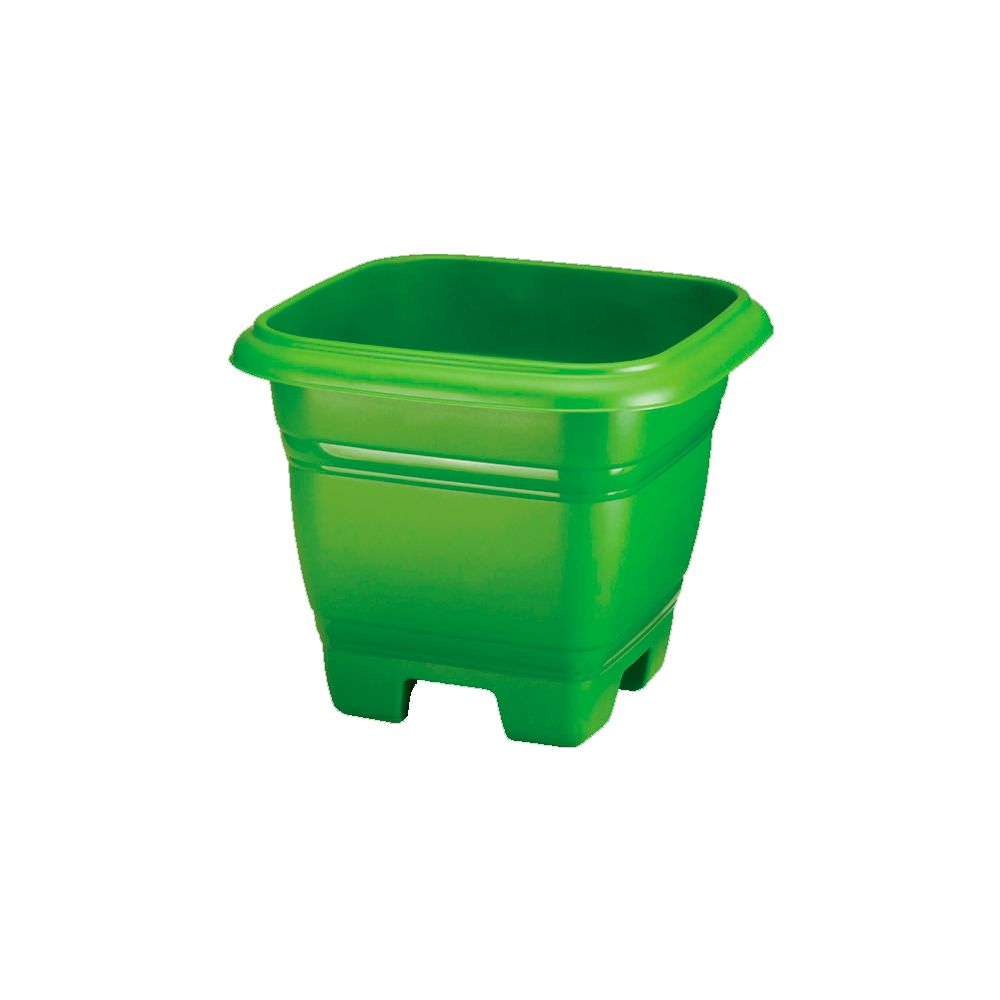 Vaso Quadrado Verde - 20 Litros
