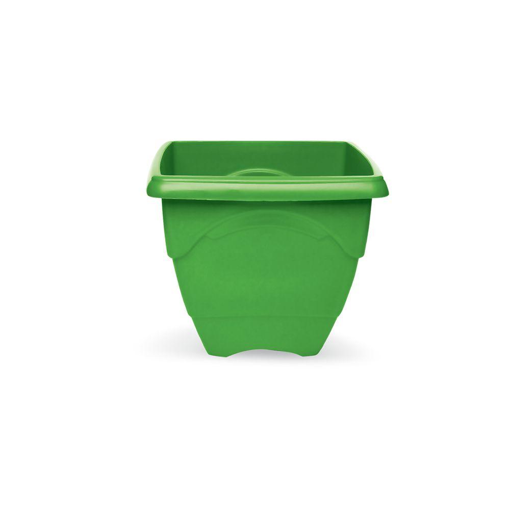Vaso Quadrado Verde 5,75 Lts