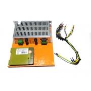 conj carregador de baterias 3a 12vcc + relé temporizador