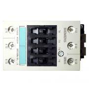 CONTATOR SIEMENS 3P 3RT10-35-1BM40 220VCC 60A AC1