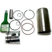 Kit P/ 1 Cilindro C/ Aneis, C/ Camisa + Junta +Cabeçote Motor MWM TD229-6