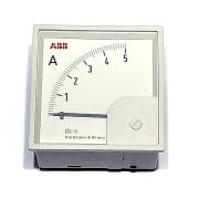 medidor amperimetro 0-5A abb
