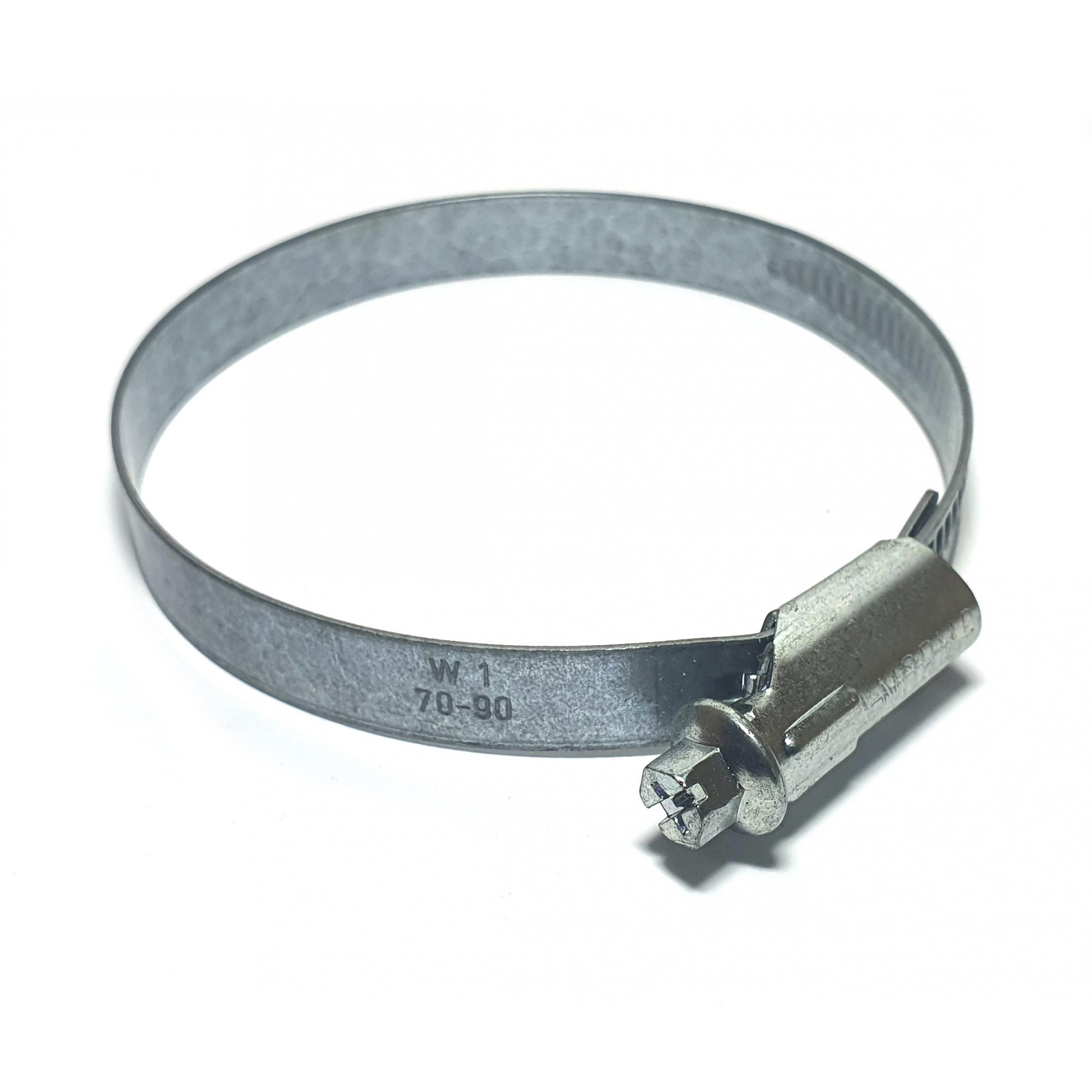 abraçadeira regulavel 14,5mm 70-90mm