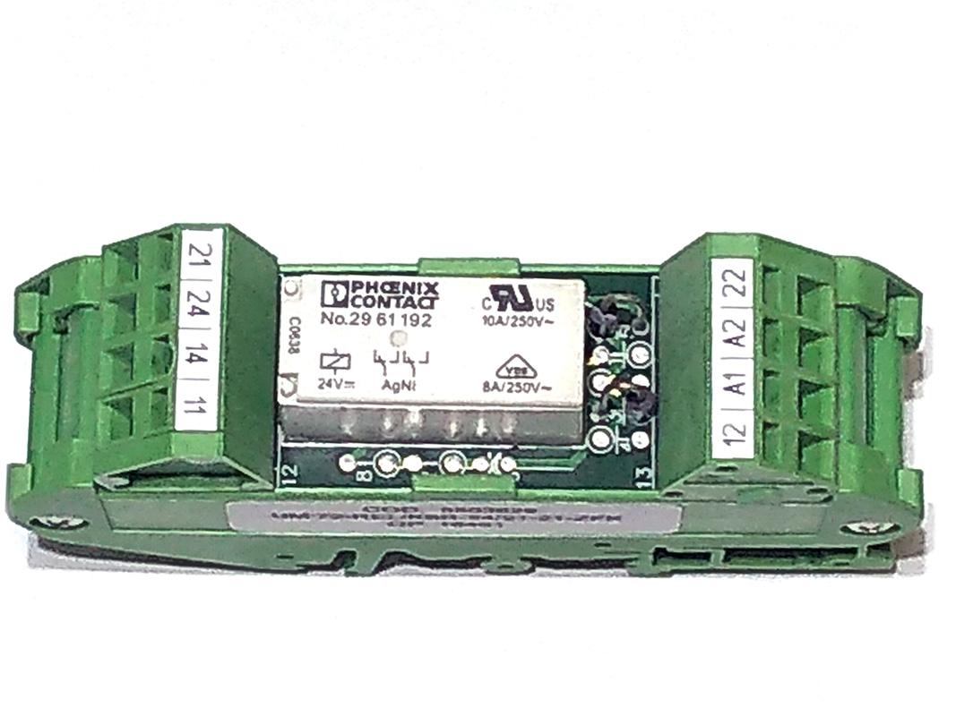 relé acoplador phoenix contact 24vcc 6a - pn 5503829