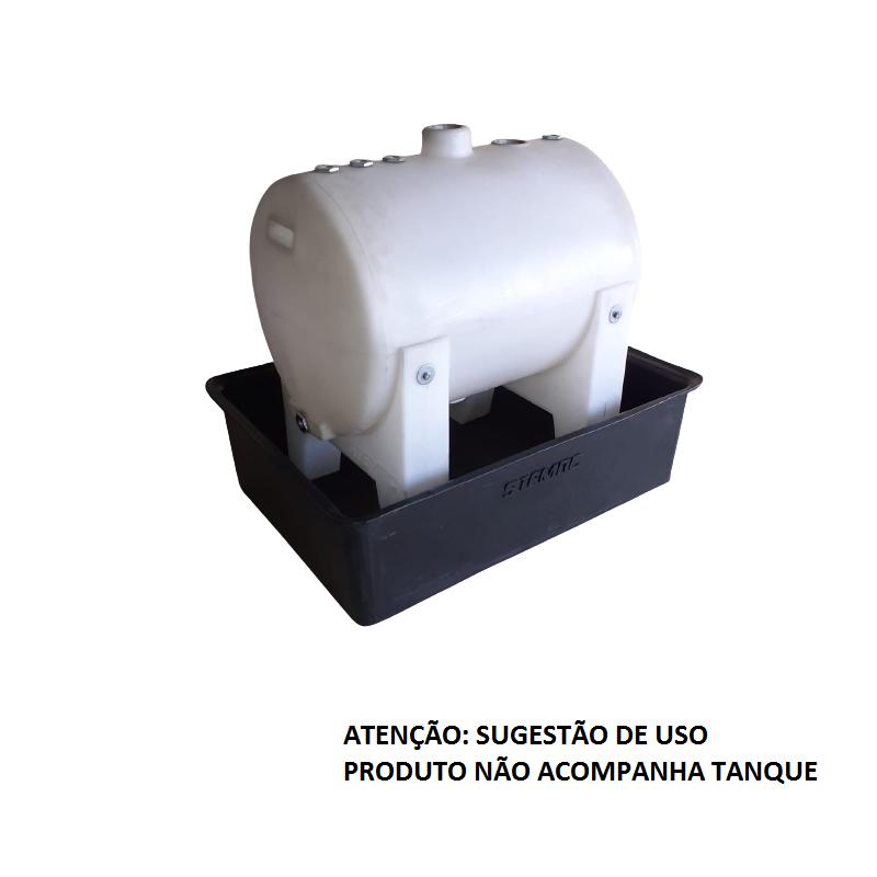 bacia de contenção p/ tanque 125L
