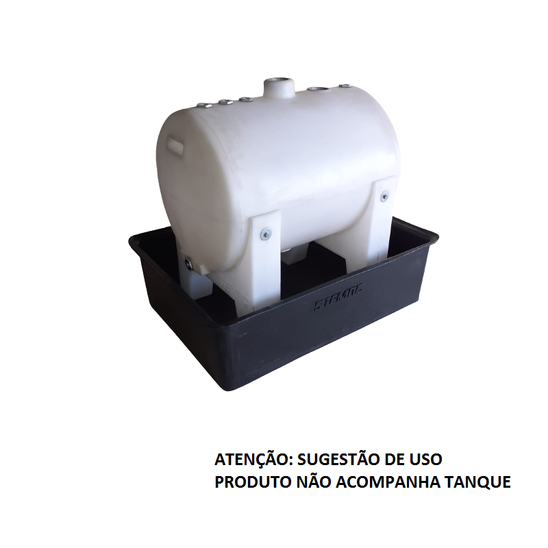 bacia de contenção p/ tanque 250L