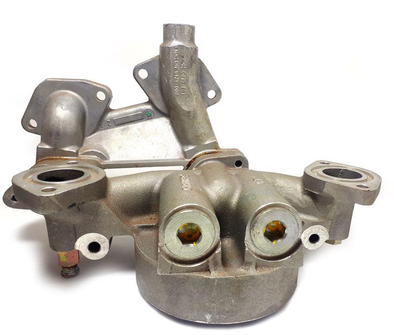 cabeçote filt oleo lubr perkins 2806-16tag1/g2 - pn ch11250