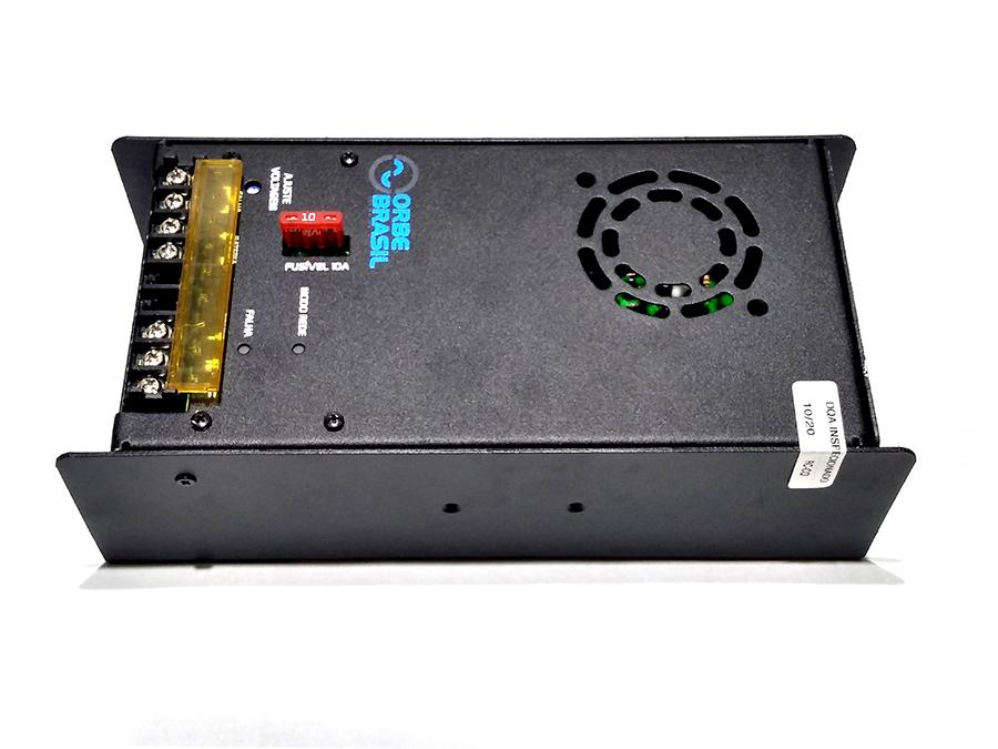 carregador baterias 24v 5a orbe cbc-130