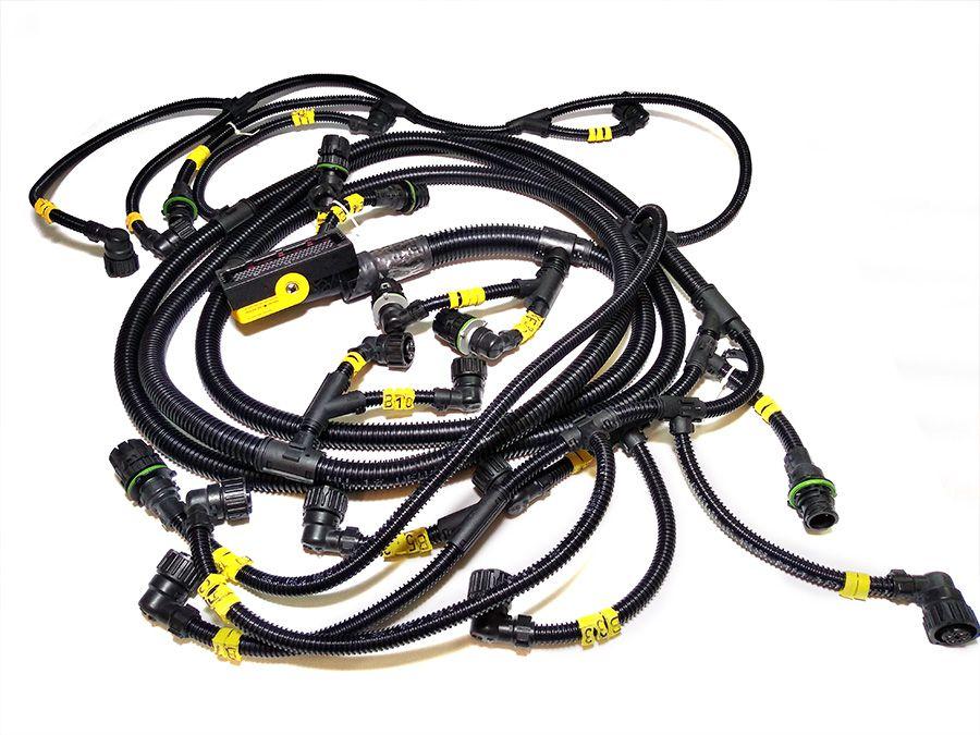 chicote x2/w2 sensores mtu 18vg85 - pn x00e50700661