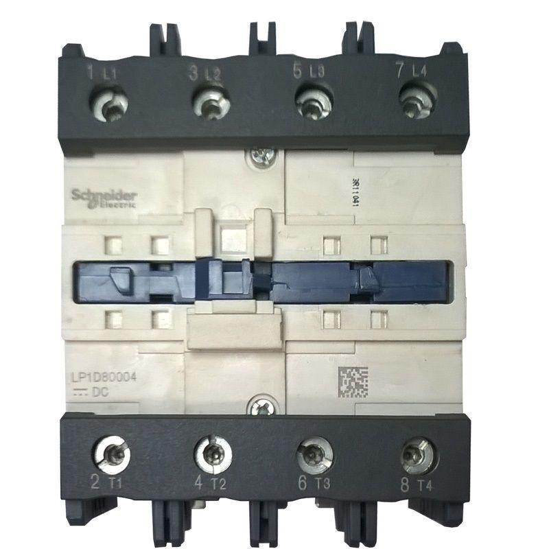 CONTATOR TELELEMACANIQUE 4P LP1D80004 220VCC 125A AC1