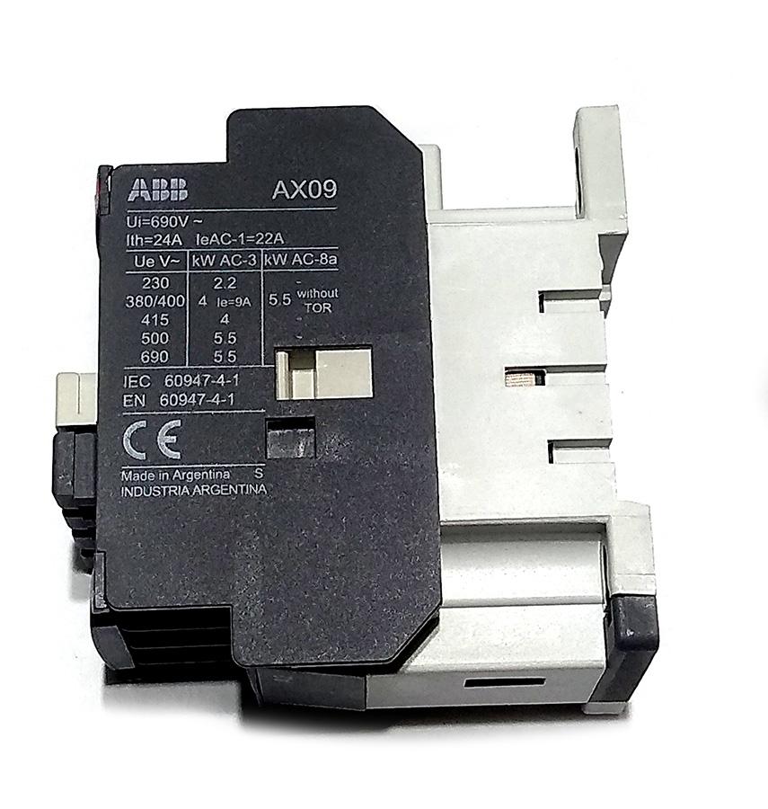 contator tripolar abb ax09-30-10-75 22a - pn 1sbl901074r7510