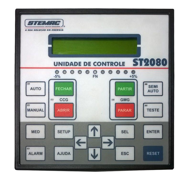 CONTROLADOR GERADOR ST2080 PT 8-30VCC
