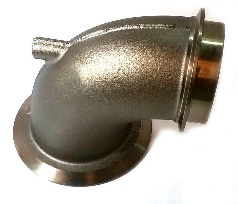 flange/curva fixação escape scania dc1643 - pn 1397001