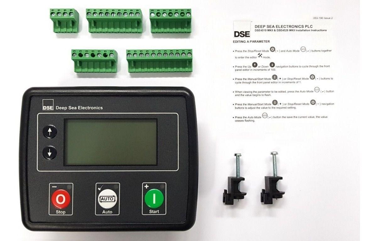 controlador gerador deep sea dse 4520 mkii