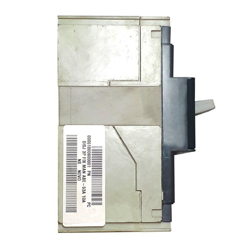 Disjuntor ABB 3P FIX MAN ABE-53A 10A