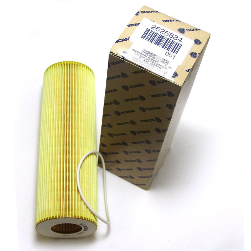 filtro oleo lubrificante scania dc972/dc13 - pn 2625884