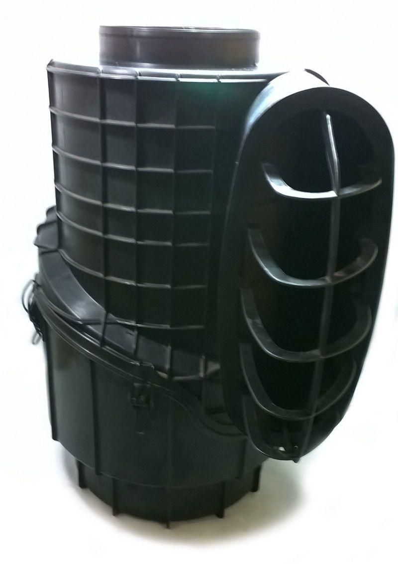 carcaça filtro de ar c/filtro scania dc965 - pn 1506545