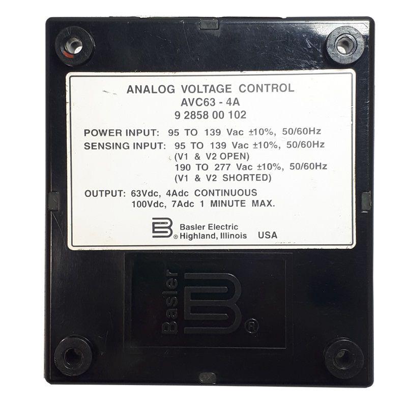 regulador tensão avc 63-4a 110/220vca