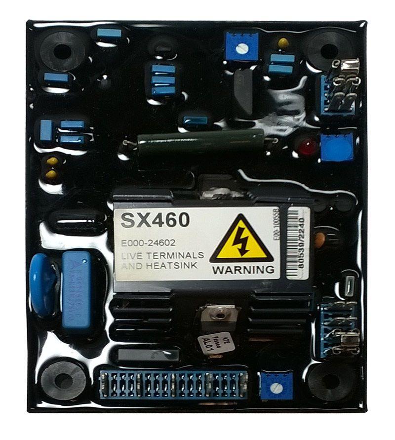 regulador tensão stamford avr sx460