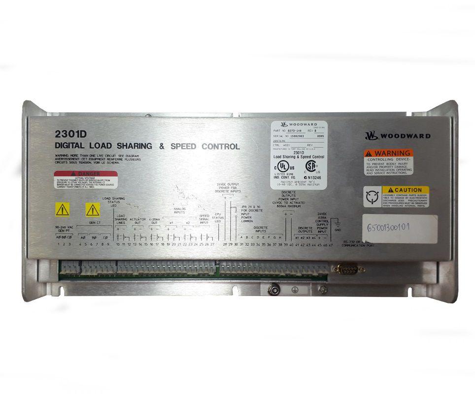 REGULADOR VELOC WOODWARD 2301D-EC