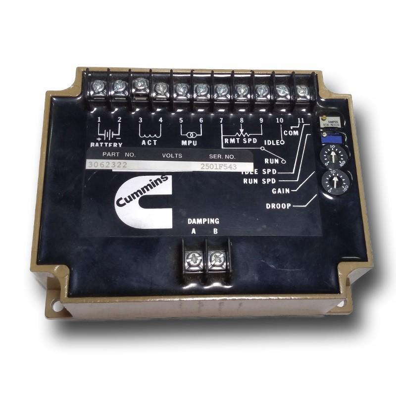 regulador velocidade cummins efc - pn 3062322