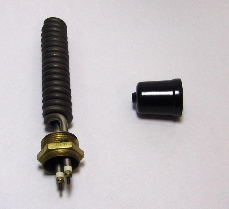 resistência pré aquec 2kw 1.1/4 pol 205mm