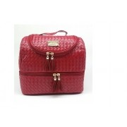 Bolsa térmica Grande Tipo Rattan Ruby's Vermelha