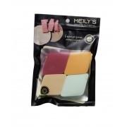kit com 4 esponjas de losango Meilys