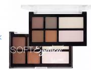 Paleta  sombra e iluminador Soft Eyebrow Cor B Luisance L969