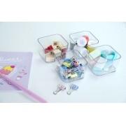 Porta Maquiagem Organizador pequeno kit com 4