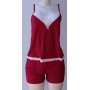Baby Doll Erica vermelho