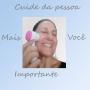 Esponja facial limpeza com cabo Meily's