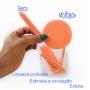 Kit com 10 Esponjas para Limpeza Facial