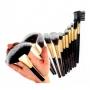 Kit com 12 pinceís de maquiagem Meily's MKP149