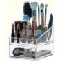 Kit organizador de maquiagem batom creme Grande