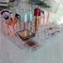 Organizador cosméticos Batom Maquiagem com 2 gavetas