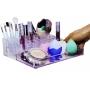 Organizador grande porta maquiagem 31 divisórias