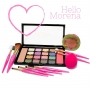 Paleta de sombra 16 cores Cherish Luisance + kit de pinceis