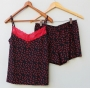 Pijama Shorts Doll Aline com Estampa Pimenta