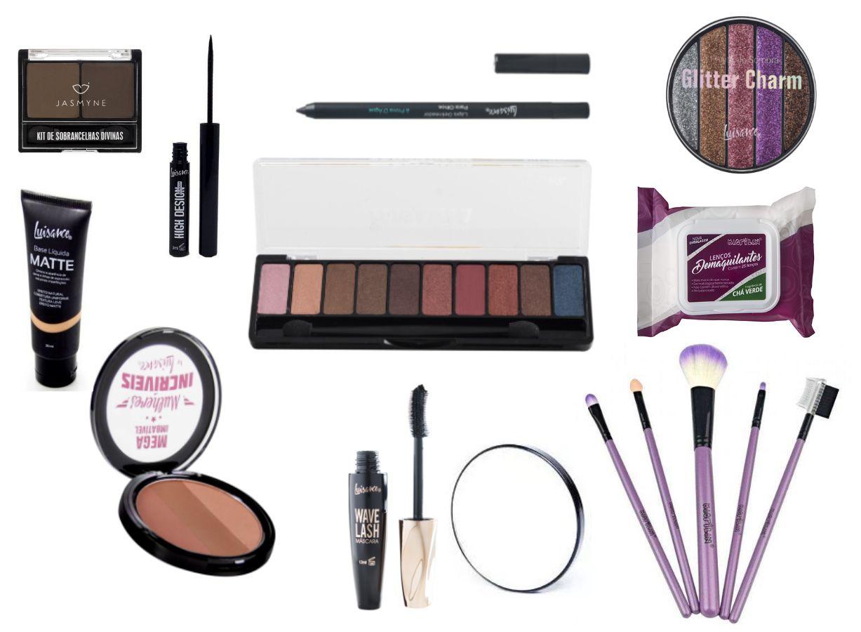 kit de maquiagem padrão 1