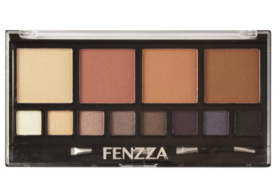 Kit faces Paleta Po iluminador sombras Fenzza Make Up km 95