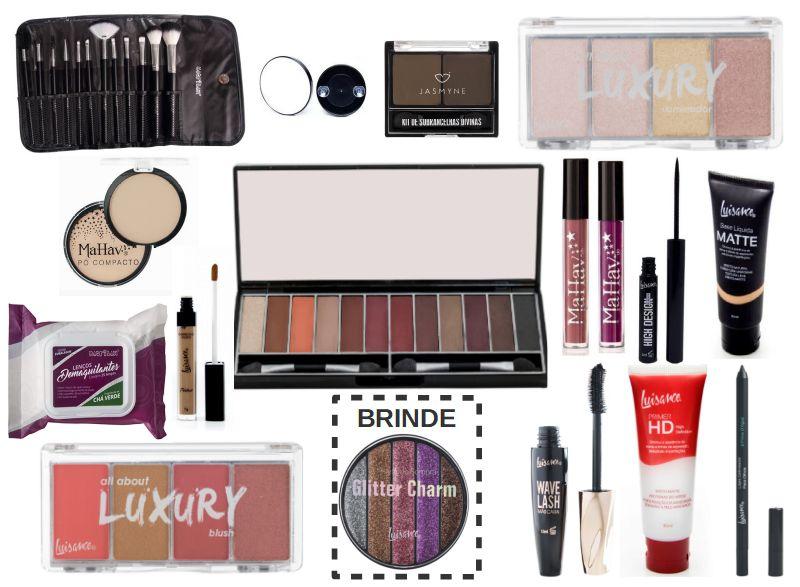 kit maquiagem completo para Presente CIII
