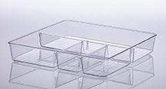 Organizador de gaveta Com divisórias 31x31x5cm