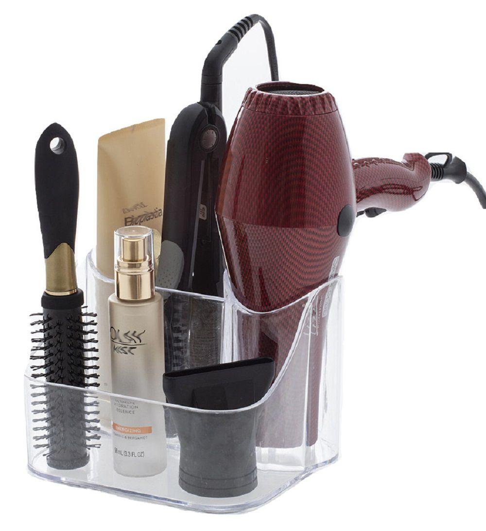 Organizador de secador de cabelo chapinha