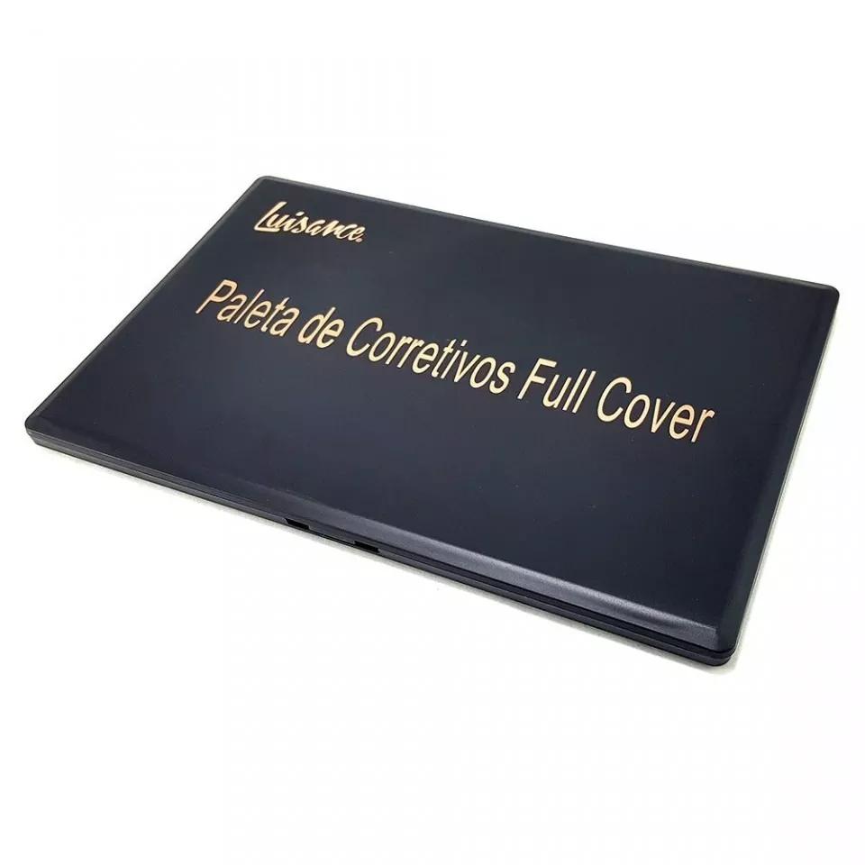 Paleta 8 Corretivos E 12 Contornos Full Cover Luisance L776