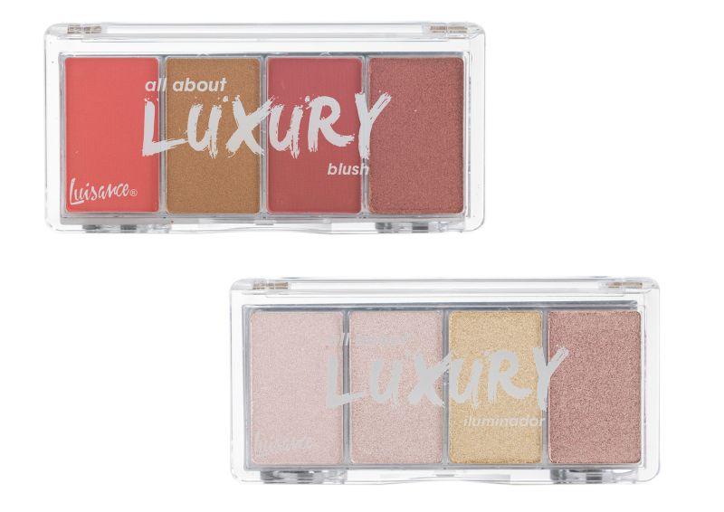 Paleta de Blush + iluminador All About Luxury Luisance