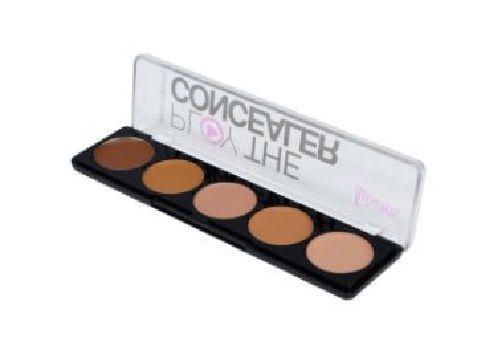 Paleta de corretivo c/ 5 cores play the concealer Luisance c